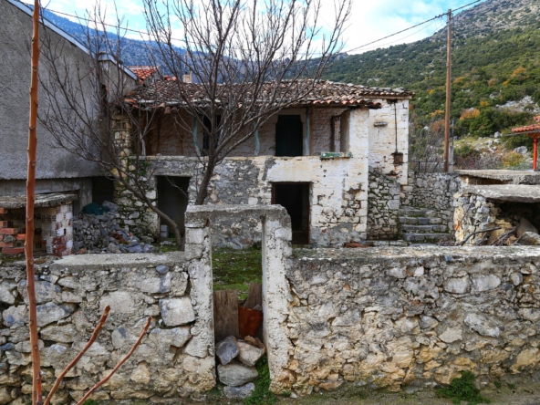 Two-storey stone house in Karia